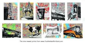 9 new prints
